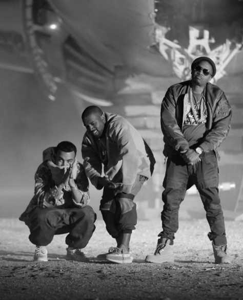 Download MP3: French Montana Ft. Kanye West & Nas – Figure It Out